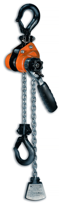 CM Mini Come Along 603 Series Lever Hoist, Capacity 1100 lbs, Lift 10 ft - 0216