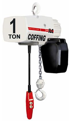 1-Ton Coffing JLC Electric Chain Hoist