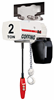 2-Ton Coffing JLC Electric Chain Hoist with Trolley