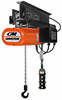 CM LodeStar Electric Chain Hoist with Motorized Trolley