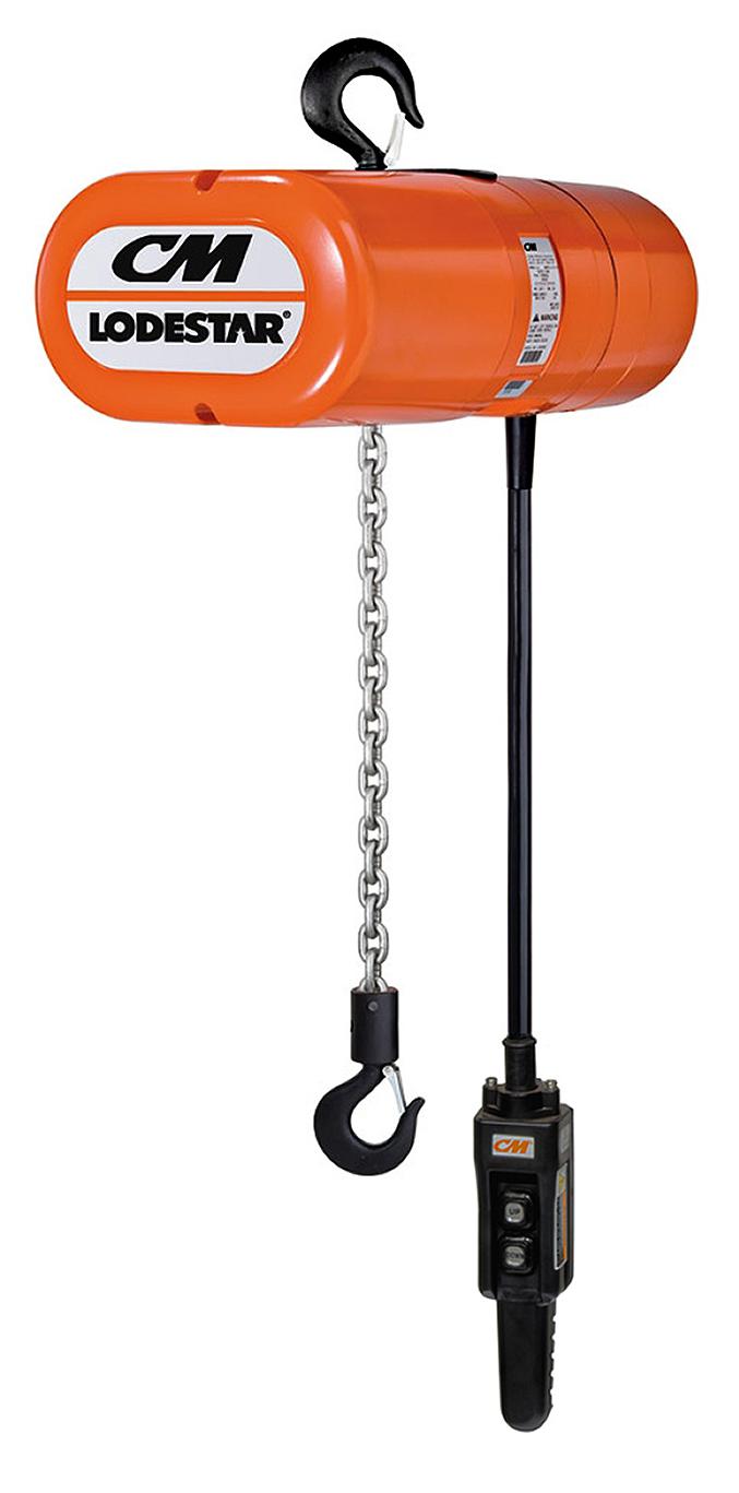 1 4 ton cm classic lodestar electric chain hoist, three phase CM Hoist Wiring-Diagram