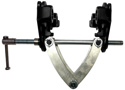 CTP Adjustable Trolley Clamp, 2-Ton Capacity, 05500025 or 05500026