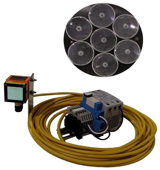 Crane Anti-Collision System, Two Event, Optical Laser, CAS-2L100