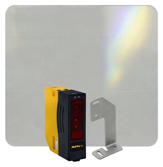 ReFlx 45 Crane Anti-Collision System, One Event, Std Bracket with Adhesive Reflector
