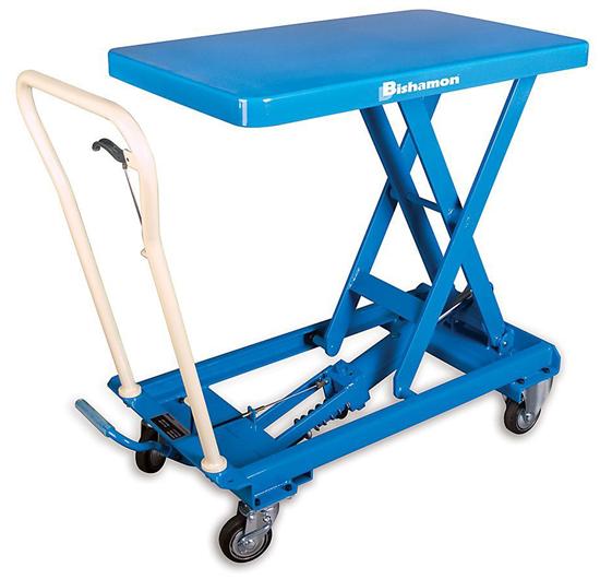 Bishamon BX-50 MobiLift Table, Capacity 1,100 lbs