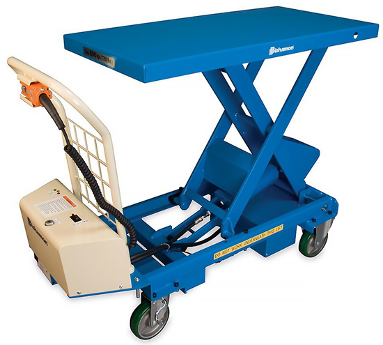 Bishamon BX-30B Battery Operated MobiLift Table, Capacity 660 lbs