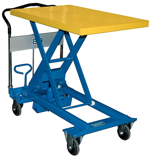 Southworth Dandy A-500 Lift Table, Capacity 1,100 lbs
