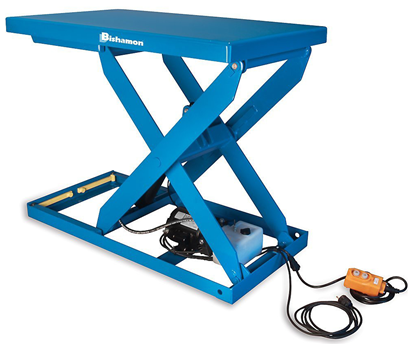 Bishamon Optimus L2K-2848 Lift Table, Capacity 2,000 lbs