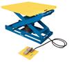 Bishamon EZ Up EZU-15-R Pneumatic Lift Table with Square/Rectangular Rotating Platform and Foot Operated Control