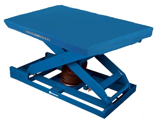Bishamon EZ Up EZU-15 Pneumatic Lift Table, Capacity 1,500 lbs