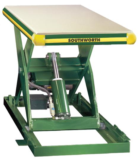 Southworth LS2.5-24 Backsaver Lift Table, Capacity 2,500 lbs