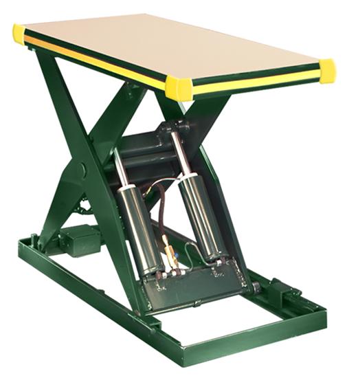 Southworth LS4-48 Backsaver Lift Table, Capacity 4,000 lbs