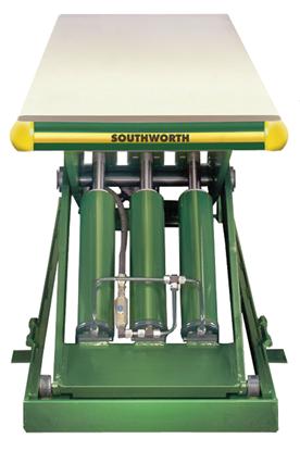 Southworth LS6-36W Backsaver Lift Table, Capacity 6,000 lbs