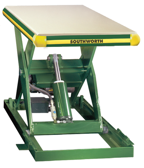 Southworth LS2-48W Backsaver Lift Table, Capacity 2,000 lbs