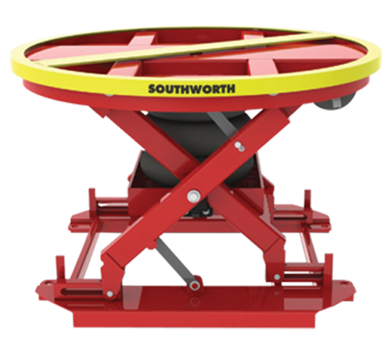 Southworth PalletPal 360 Air Actuated Level Loader, Capacity 4,500 lbs