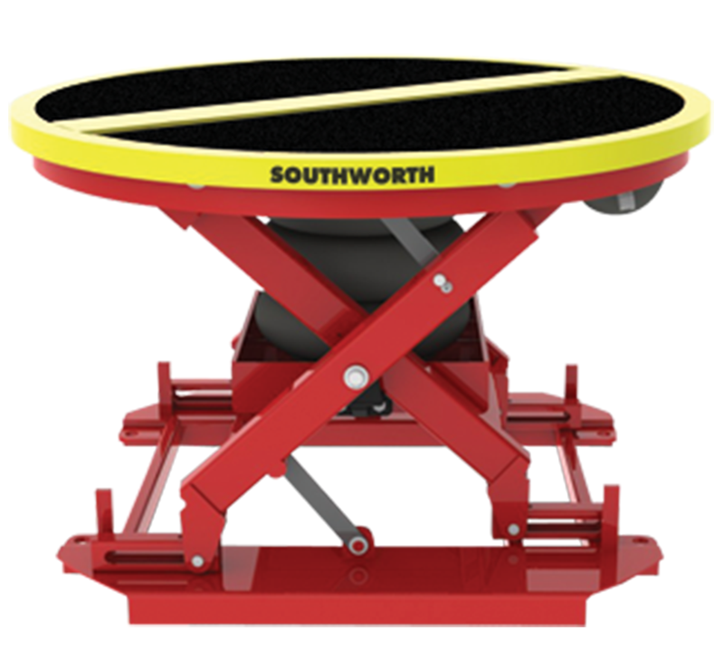 Southworth PalletPal 360 Pneumatic-Airbag Level Loader with Phenolic Cover