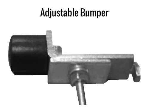 Gorbel Enclosed Track Adjustable Bumper