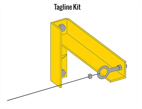 Gorbel FS300 Tagline Kit
