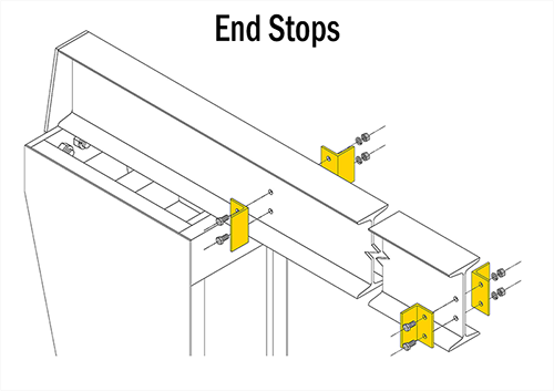 Gorbel FS300 End Stops