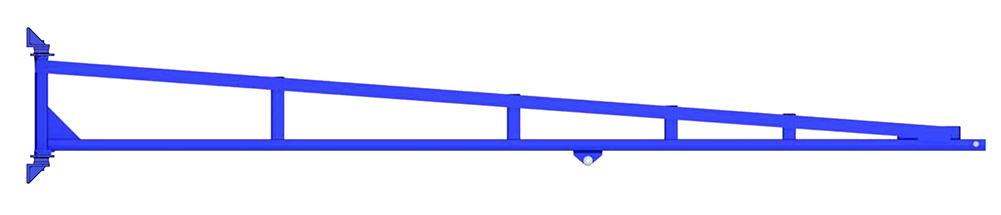 Gorbel TSJ150 Wall Mounted Tool Balancer Jib Crane
