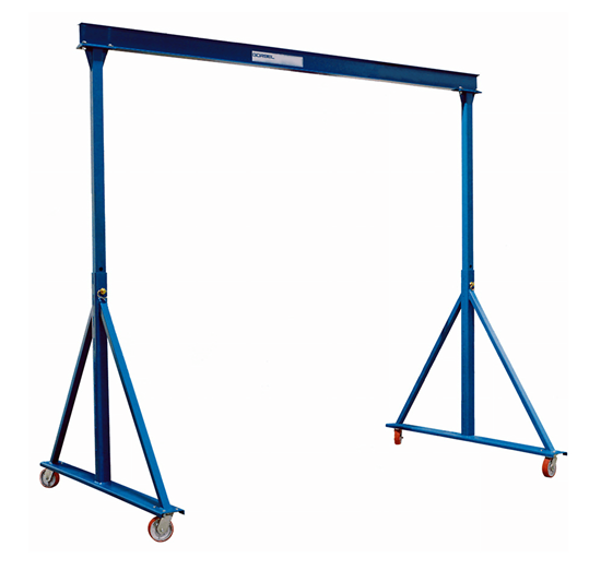 Gorbel Adjustable Height Gantry Crane