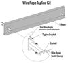 Gorbel Gantry Crane Wire Rope Tagline Kit