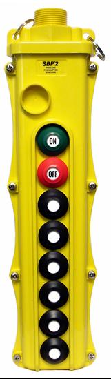 8-Button Magnetek SBP2-8 Pendant with On/Off