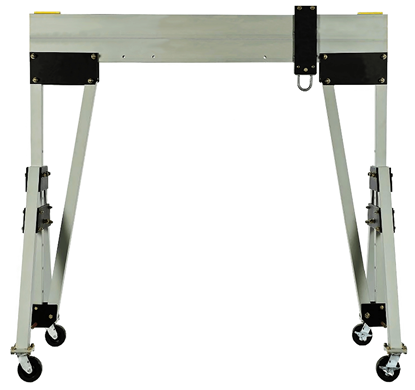 eme Adjustable Height Aluminum Gantry Crane