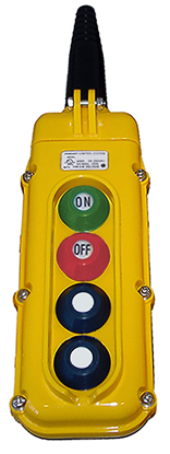 4-Button Magnetek SBN-4 Pendant with On/Off Buttons