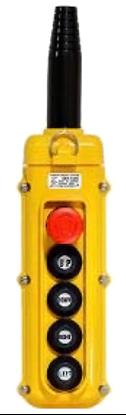 5-Button Magnetek SBN-5 Pendant with E-Stop Button