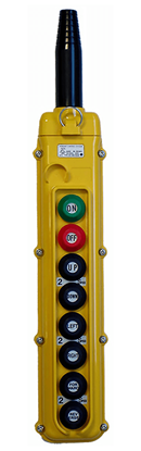 8-Button Magnetek SBN-8 Pendant with On/Off Buttons