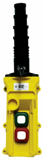 Duct-O-Wire L2 Series Pendant Push Button Station with On/Off