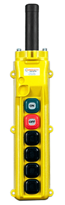 Conductix 6-Button 80 Series Pendant with On/Off Switches
